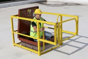 Track Fall Protection for Railcar, Truck and Aircraft