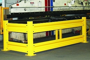 Guard Rail Systems Help Manage Traffic Flow in Industrial and Warehouse Environments
