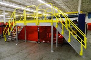 Platform Stairs for Pipe Racks