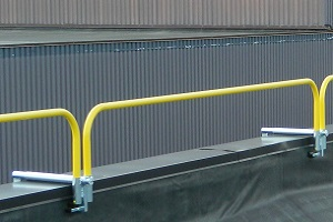 Parapet Clamp Safety Railing