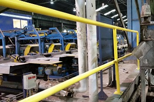Machine Pit Safety Handrail Systems