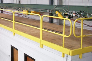 Mezzanine Safety Handrail Systems