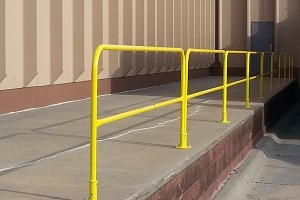 Walkway Safety Handrail Systems