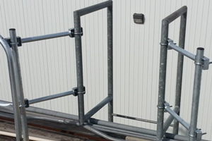 Roof Safety Rail Ladder Spanner Bracket