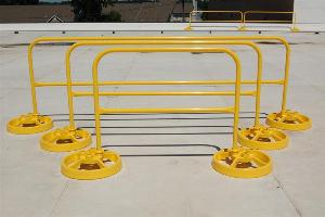 Roof Safety Rail Modular Rail Sections