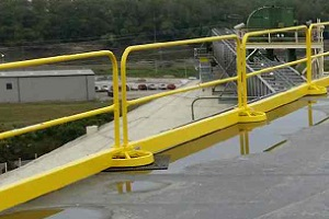 Roof Safety Rail Metal Toeboard
