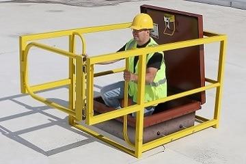 Roof Hatch Guarding