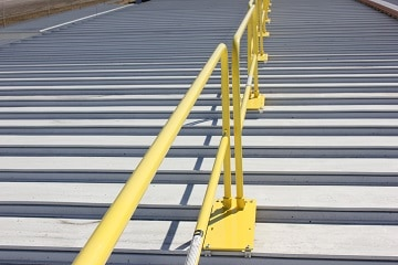Standing Seam Safety Rails System