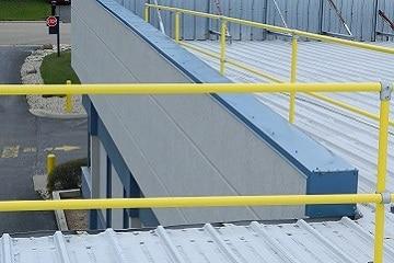 Precise Fit Roof Guardrail