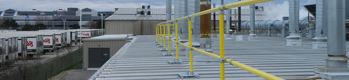 Metal Roof Railing System for Standing Seam
