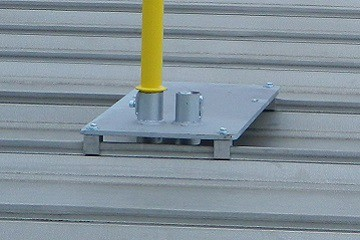 Standing Seam Clamp Railing System