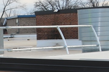 Parapet Guardrail Options