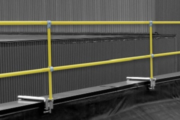 Parapet Clamp Roof Guardrail