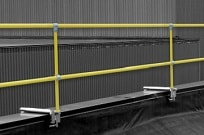 Parapet Clamp Rail System