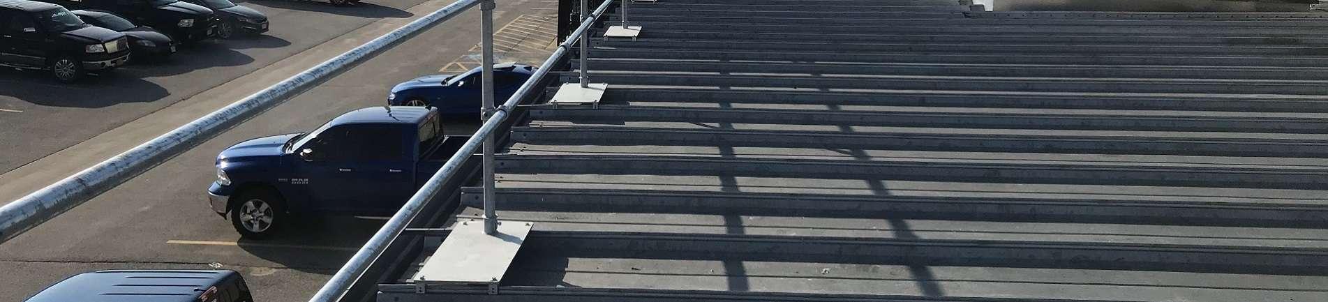 Standing Seam Guardrail