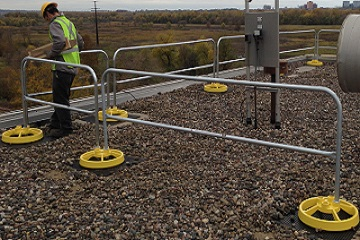 Fall Protection Guardrail Uses