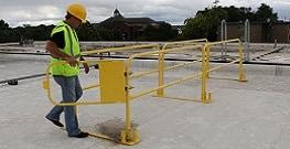 Roof Access Guardrail